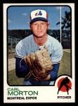 1973 Topps #331  Carl Morton  Front Thumbnail