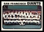 1973 Topps #434   Giants Team Front Thumbnail
