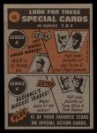 1972 Topps #48   -  John Ellis In Action Back Thumbnail