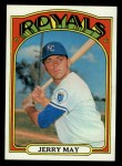 1972 Topps #109  Jerry May  Front Thumbnail