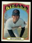 1972 Topps #116  Ed Farmer  Front Thumbnail