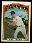 1972 Topps #119  Marty Perez  Front Thumbnail