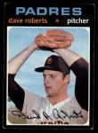 1971 Topps #448  Dave Roberts  Front Thumbnail