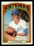 1972 Topps #349  Al Fitzmorris  Front Thumbnail