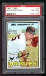 1967 Topps #125  Moe Drabowsky  Front Thumbnail