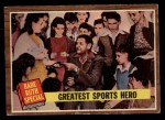 1962 Topps #143 A  -  Babe Ruth Greatest Sports Hero Front Thumbnail