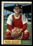 1961 Topps #487  Gene Oliver  Front Thumbnail