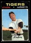 1971 Topps #180  Al Kaline  Front Thumbnail