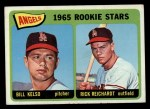1965 Topps #194   -  Bill Kelso / Rick Reichardt Angels Rookies Front Thumbnail