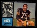 1962 Topps #70  Forrest Gregg  Front Thumbnail
