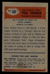 1955 Bowman #38  Paul Younger  Back Thumbnail