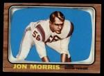 1966 Topps #10  Jon Morris  Front Thumbnail