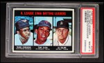 1967 Topps #239   -  Al Kaline / Tony Oliva / Frank Robinson AL Batting Leaders Front Thumbnail