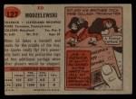 1957 Topps #127  Ed Modzelewski  Back Thumbnail