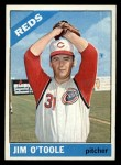 1966 Topps #389  Jim O'Toole  Front Thumbnail