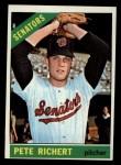 1966 Topps #95  Pete Richert  Front Thumbnail