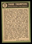 1967 Topps #109   -  Rocky Colavito / Leon Wagner Tribe Thumpers Back Thumbnail