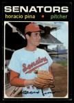 1971 Topps #497  Horacio Pina  Front Thumbnail