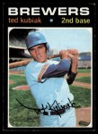 1971 Topps #516  Ted Kubiak  Front Thumbnail