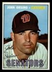 1967 Topps #207  John Orsino  Front Thumbnail