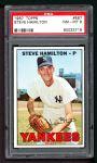 1967 Topps #567  Steve Hamilton  Front Thumbnail