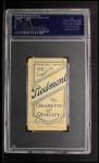 1909 T206 SIT Mike Donlin  Back Thumbnail