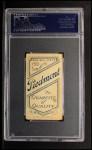 1909 T206  Lou Criger  Back Thumbnail