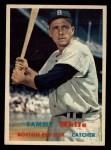1957 Topps #163  Sammy White  Front Thumbnail