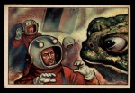 1951 Bowman Jets Rockets and Spacemen #21   Hypnotized by Steam Frogs Front Thumbnail