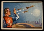 1951 Bowman Jets Rockets and Spacemen #100   Help Arrives Front Thumbnail