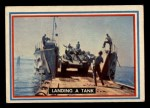 1953 Topps Fighting Marines #3   Landing Tank Front Thumbnail