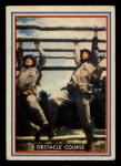 1953 Topps Fighting Marines #8   Obstacle Course Front Thumbnail