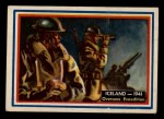 1953 Topps Fighting Marines #87   Iceland Front Thumbnail