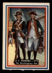 1953 Topps Fighting Marines #91   The Revolutionary War Front Thumbnail