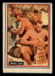 1953 Topps Fighting Marines #32   Wash Day Front Thumbnail