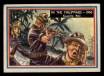 1953 Topps Fighting Marines #82   In The Philippines Front Thumbnail