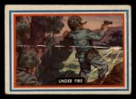1953 Topps Fighting Marines #60   Under Fire Front Thumbnail