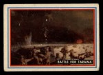 1953 Topps Fighting Marines #40   Battle For Tarawa Front Thumbnail