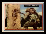 1953 Topps Fighting Marines #5   Bayonet Practice Front Thumbnail