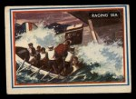 1953 Topps Fighting Marines #55   Raging Sea Front Thumbnail