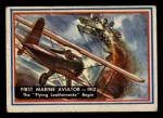 1953 Topps Fighting Marines #79   First Marine Aviation Front Thumbnail