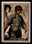 1953 Topps Fighting Marines #27   Officer In Action Front Thumbnail