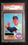1968 Topps #476  Woody Woodward  Front Thumbnail