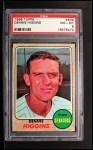 1968 Topps #509  Dennis Higgins  Front Thumbnail