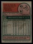 1975 Topps #230  Catfish Hunter  Back Thumbnail