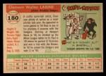 1955 Topps #180  Clem Labine  Back Thumbnail