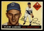 1955 Topps #180  Clem Labine  Front Thumbnail