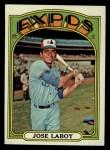 1972 Topps #727  Jose Laboy  Front Thumbnail