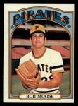 1972 Topps #647  Bob Moose  Front Thumbnail
