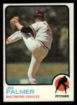 1973 Topps #160  Jim Palmer  Front Thumbnail